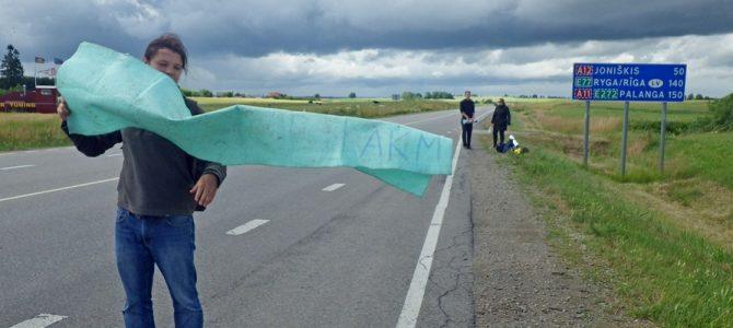Autostopu į Žagarės Vyšnių festivalį