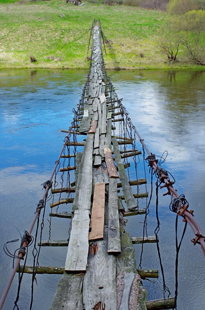 Saugus tiltas per Nerį