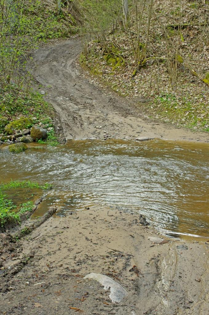 Kelias per Papunžės upelį