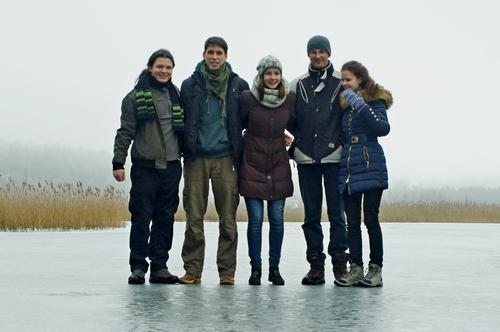 Ant Spindžiaus ežero
